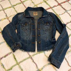 Highway Jeans Cropped Denim Jacket
